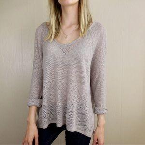 Brandy Melville John Galt Cozy Wool Blend Sweater